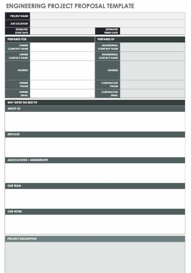 technical proposal for mobile application