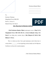 sample application letter police clearance certificate