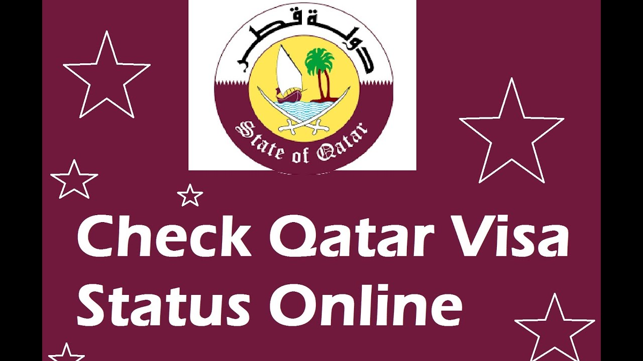 how to check the status of your visa application