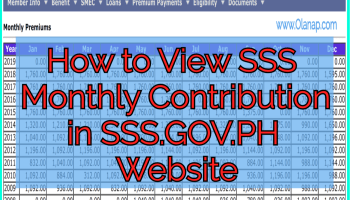 sss loan online application philippines