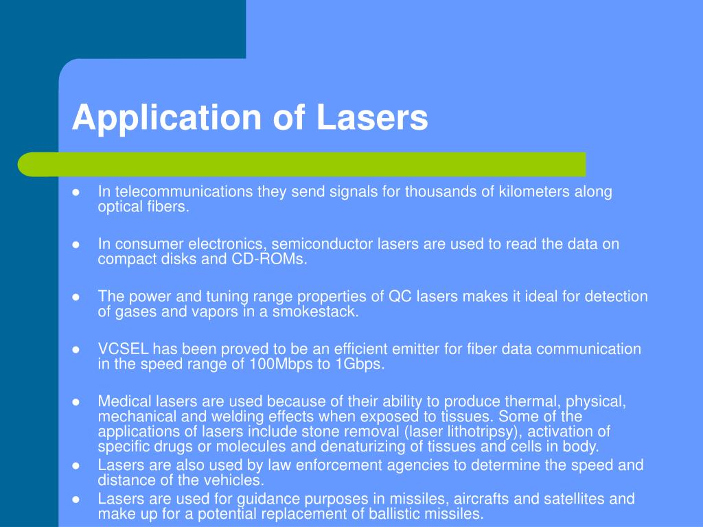 application of laser in gynecology