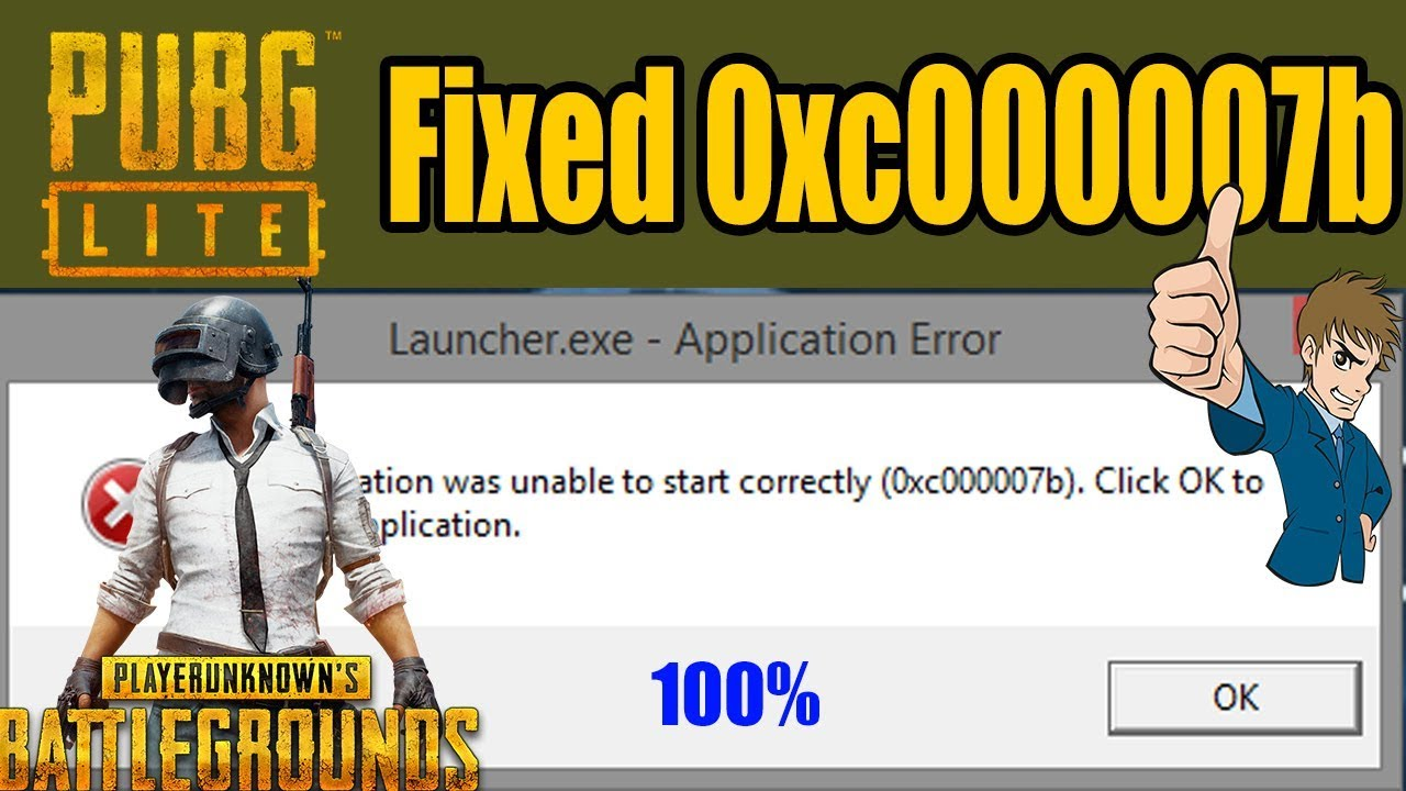 application was unable to start correctly 0xc00007b