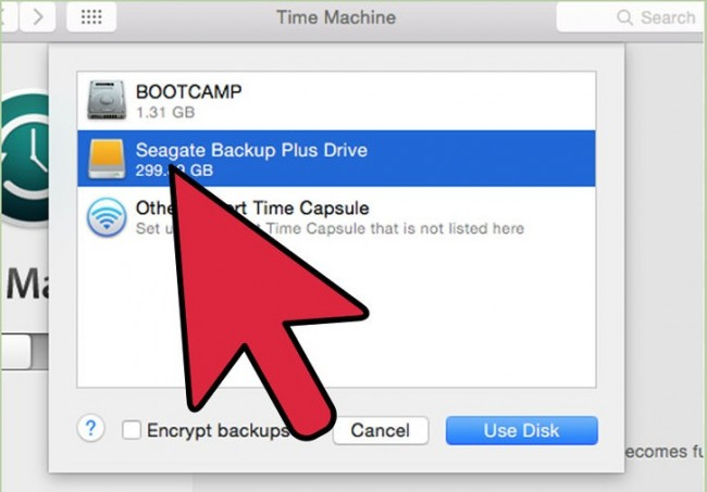 restore applications from time machine backup