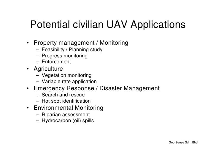 uav applications for oil and gas