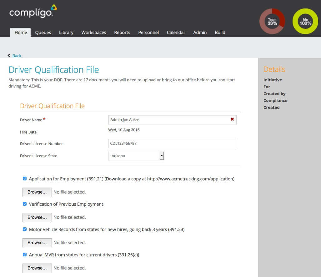 driving test application form qld