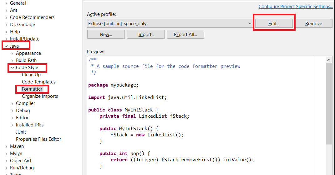 how to create java application in eclipse