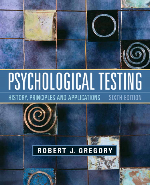 psychological testing history principles and applications free download